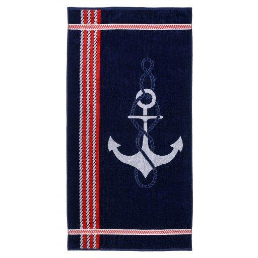 Anchor Themed Beach Towel 34