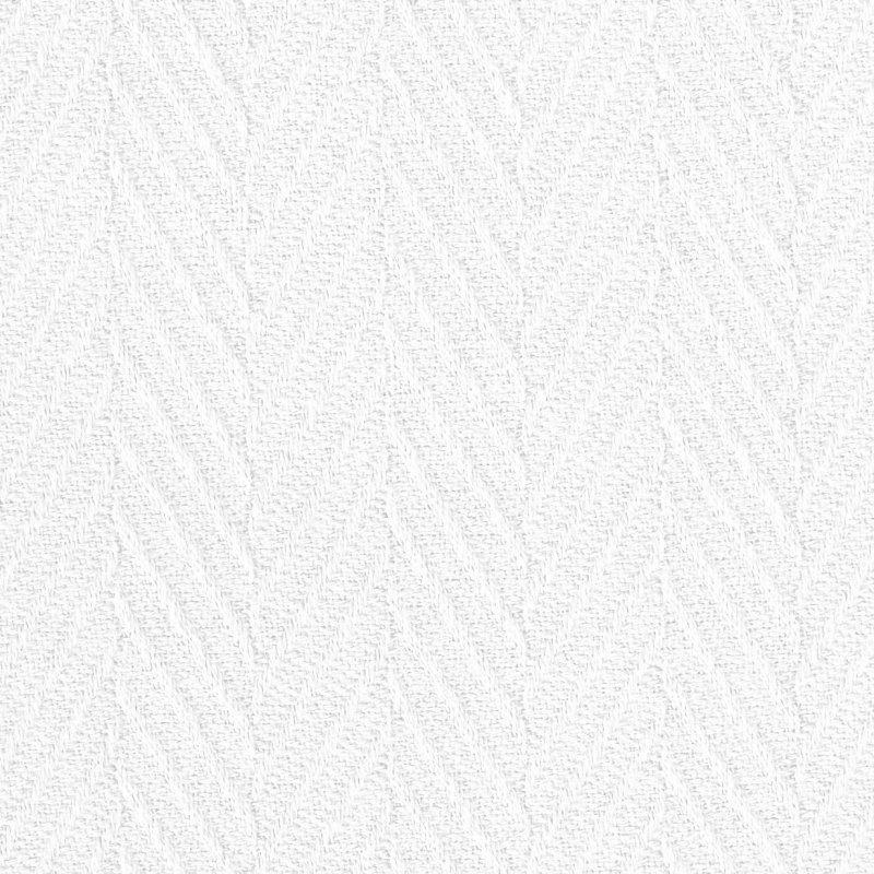 Image 3 of Superior Metro Herringbone Weave Pattern Blanket 100% Cotton White