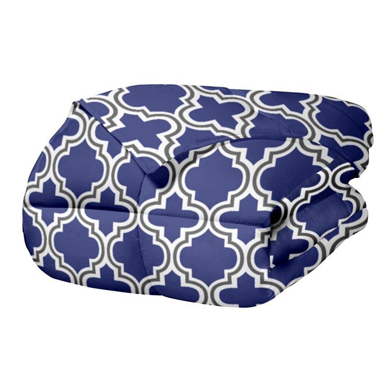 Superior Trellis Design Comforter Set