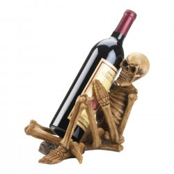 Spooky Skeleton Wine Bottle Holder Perfect For Halloween Parties