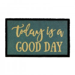 Elsa Today is a Good Day Coir Doormat Slip-Resistant Backing 18 x 30 Long
