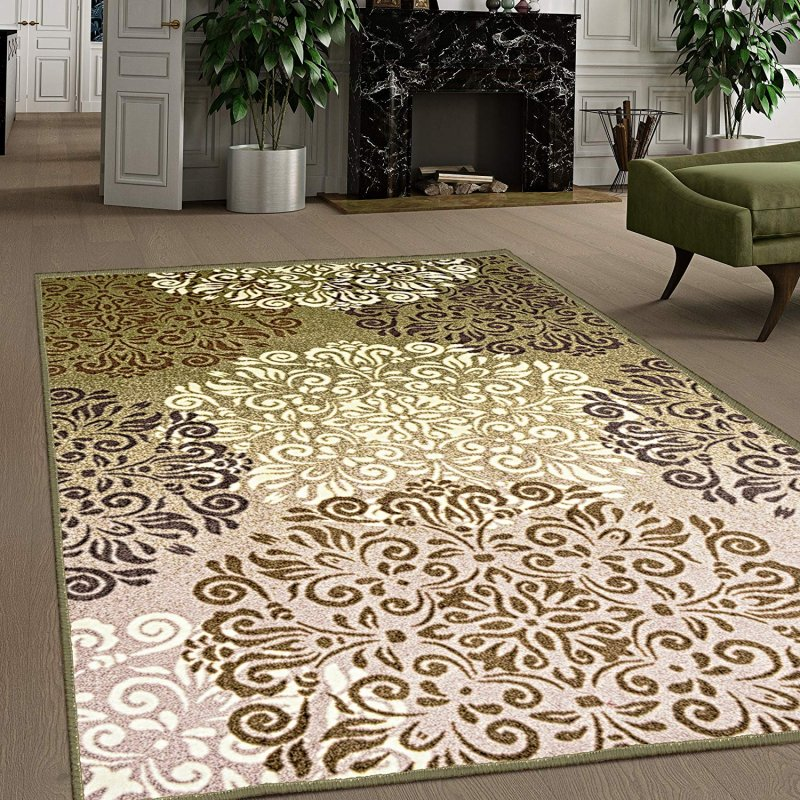 Bring home this indoor area rug in multiple sizes with 4.5mm or .18