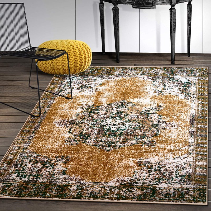 This versatile indoor area rug comes multiple sizes with .18