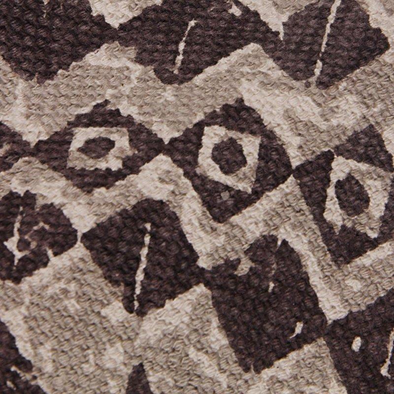Image 2 of Superior Acadia Designer Area Rug Brown & Black Geometric Design 100% Cotton