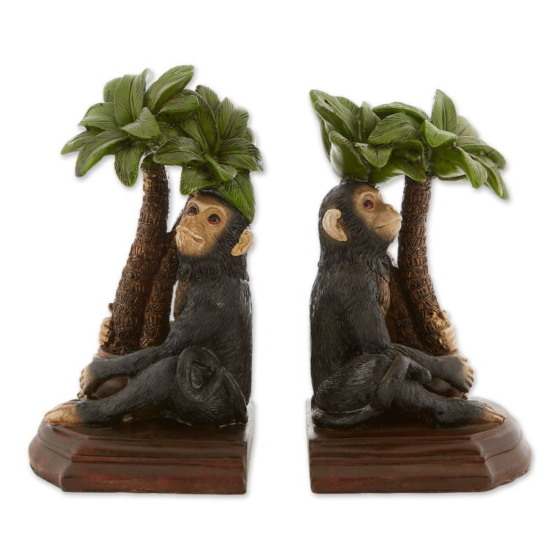 These monkey bookends will ensure your books will remain organized and in their proper place.