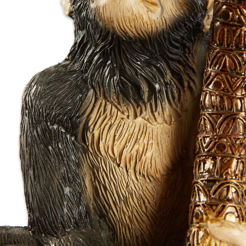 Image 4 of Monkey under Palm Tree Bookends