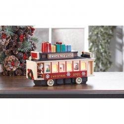 LED Lighted Vintage Style Christmas Train Figurine