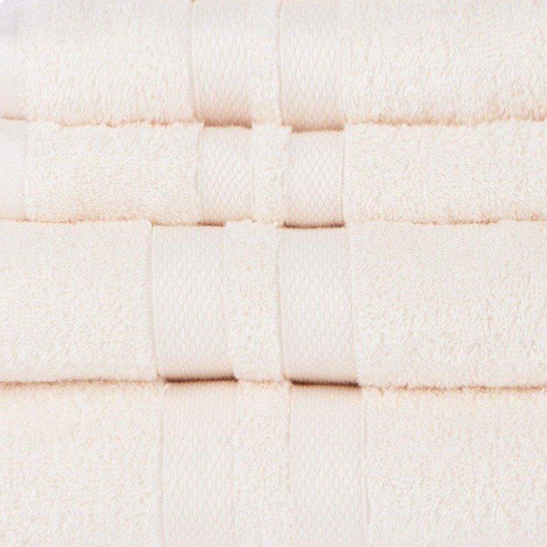 Ivory Double Border 6-Piece Towel Set