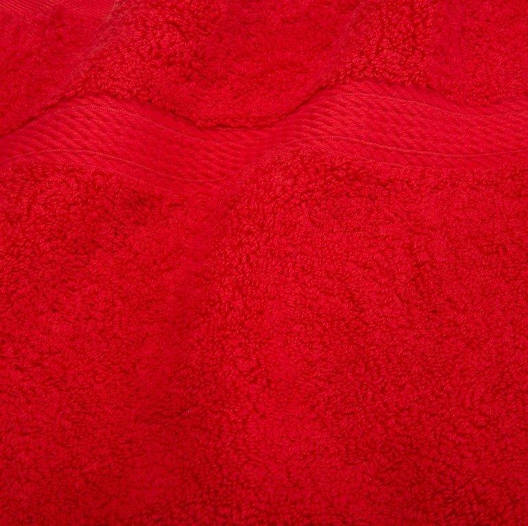 Red 900 GSM 3-Piece Towel Set