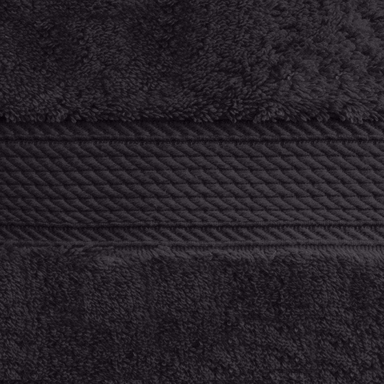Black 900 GSM 6-Piece Towel Set