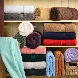 6-pc Superior 900 GSM Egyptian Cotton 2 Hand, 2 Bath, 2 Washcloth Towel Set