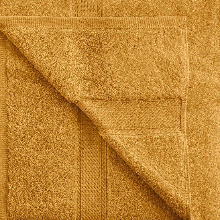 Rust 900 GSM Egyptian Cotton 2 Piece Towel Set