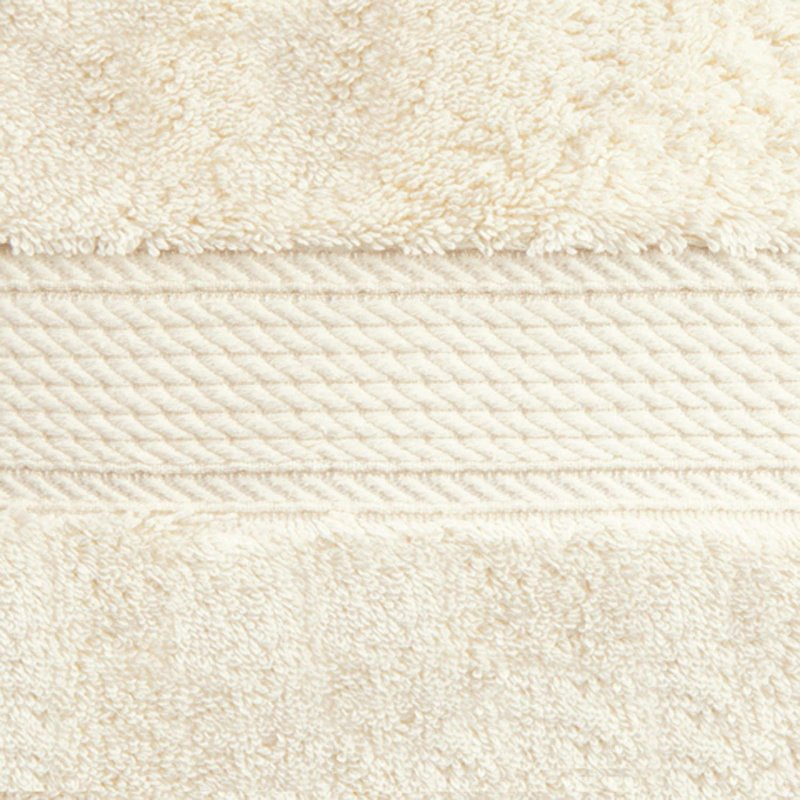 Cream 900 GSM Egyptian Cotton 2 Piece Towel Set