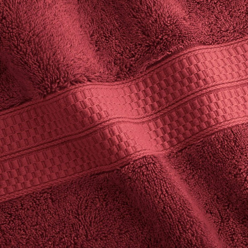 Crimson 650 GSM Bamboo from Rayon Bath Towels