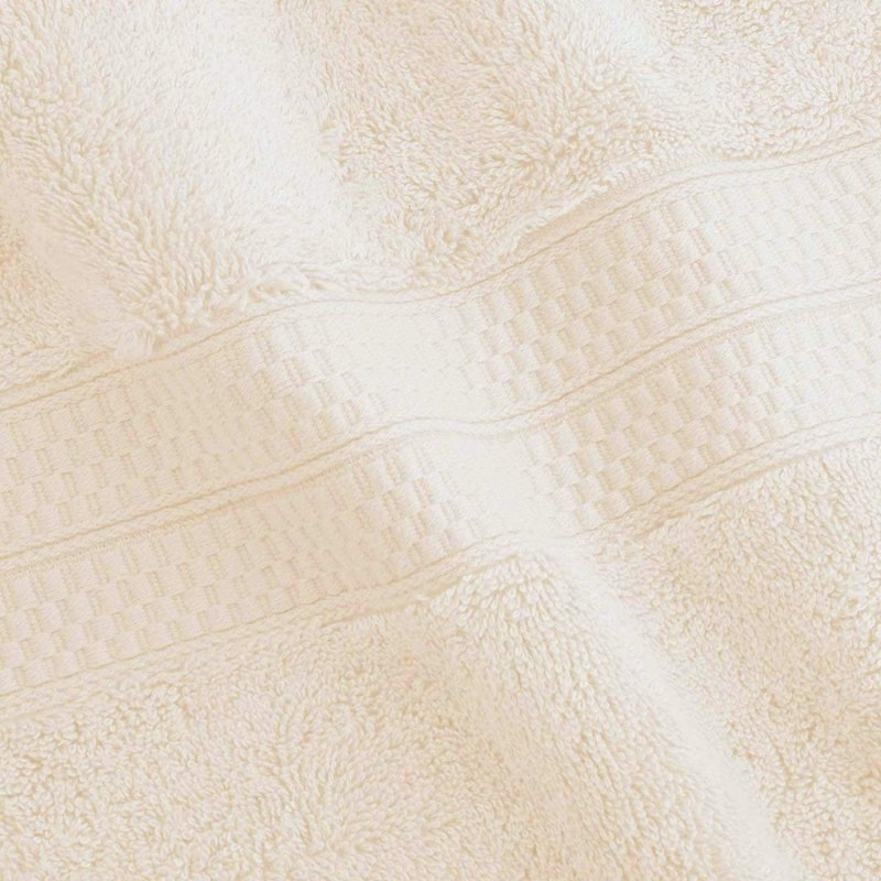 Ivory 650 GSM Bamboo from Rayon Bath Towels