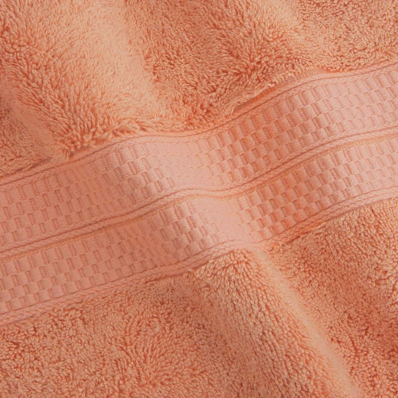 Salmon 650 GSM Bamboo from Rayon Bath Towels