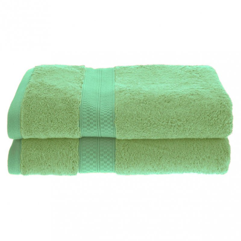 Image 13 of Rayon from Bamboo 650 GSM 2-Piece Bath Towel Set