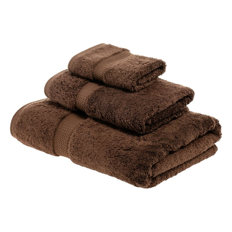 Image 3 of 3-pc Superior 900 GSM Egyptian Cotton Bath, Hand and Face Towel Set