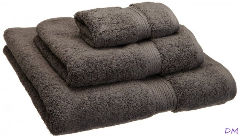 Image 5 of 3-pc Superior 900 GSM Egyptian Cotton Bath, Hand and Face Towel Set