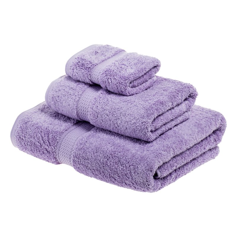 Image 19 of 3-pc Superior 900 GSM Egyptian Cotton Bath, Hand and Face Towel Set