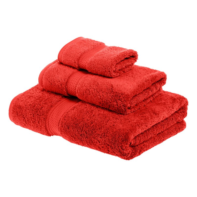 Image 21 of 3-pc Superior 900 GSM Egyptian Cotton Bath, Hand and Face Towel Set