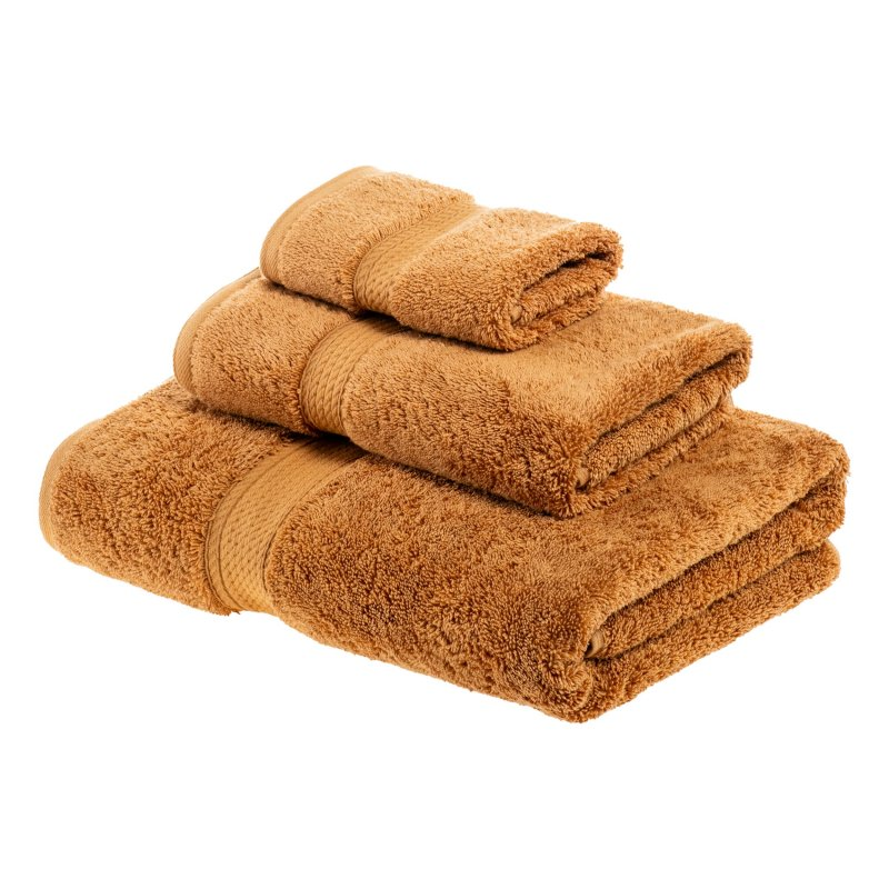 Image 23 of 3-pc Superior 900 GSM Egyptian Cotton Bath, Hand and Face Towel Set