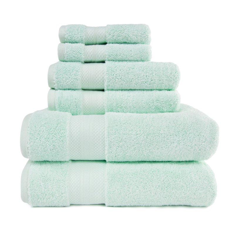 Image 9 of 100% Turkish Long Staple Cotton 800 GSM 2 Bath, 2 Hand, 2 Face Towel Set