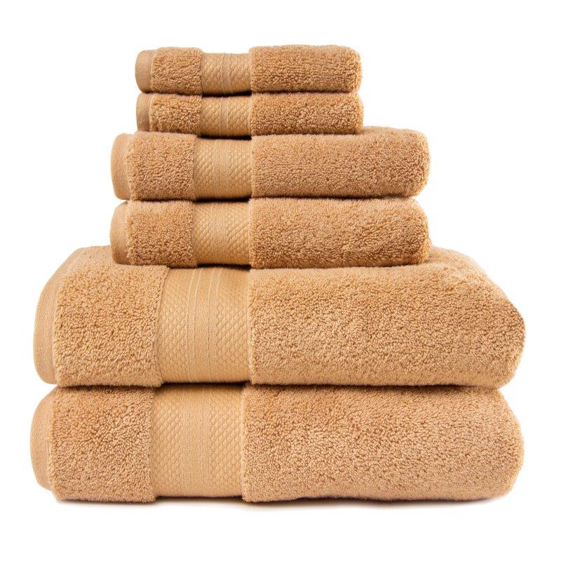Image 13 of 100% Turkish Long Staple Cotton 800 GSM 2 Bath, 2 Hand, 2 Face Towel Set