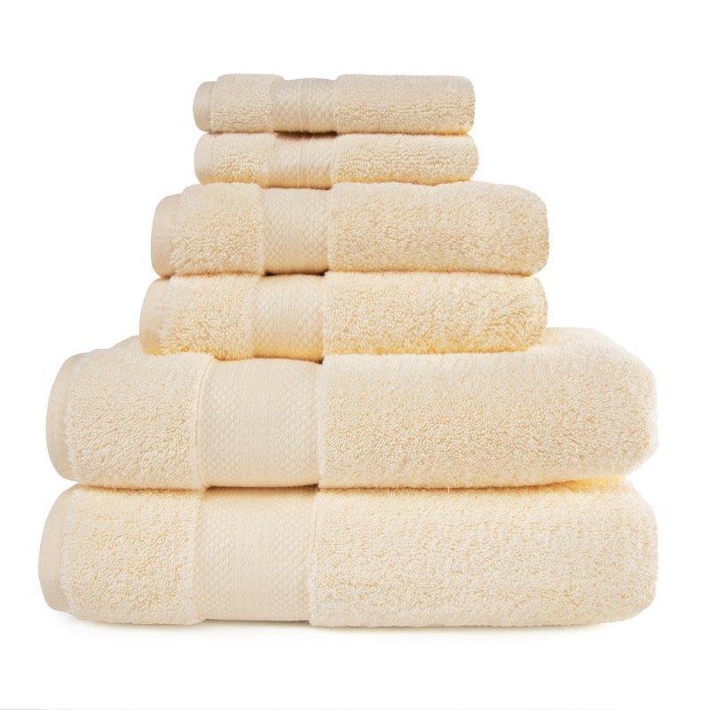 Image 15 of 100% Turkish Long Staple Cotton 800 GSM 2 Bath, 2 Hand, 2 Face Towel Set