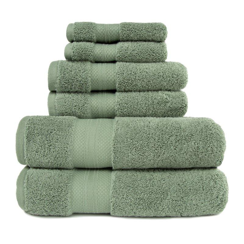 Image 17 of 100% Turkish Long Staple Cotton 800 GSM 2 Bath, 2 Hand, 2 Face Towel Set