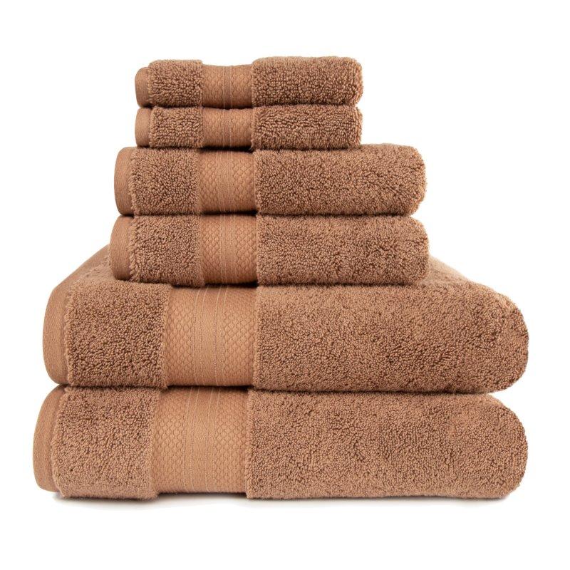 Image 19 of 100% Turkish Long Staple Cotton 800 GSM 2 Bath, 2 Hand, 2 Face Towel Set