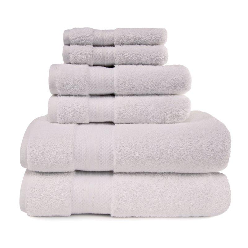 Image 21 of 100% Turkish Long Staple Cotton 800 GSM 2 Bath, 2 Hand, 2 Face Towel Set