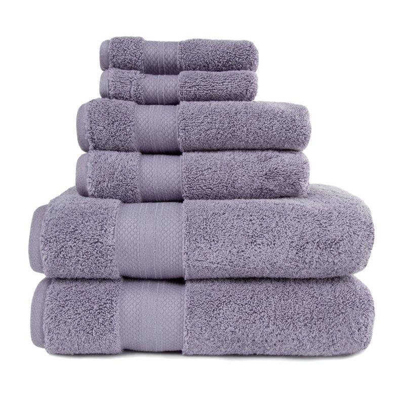 Image 23 of 100% Turkish Long Staple Cotton 800 GSM 2 Bath, 2 Hand, 2 Face Towel Set