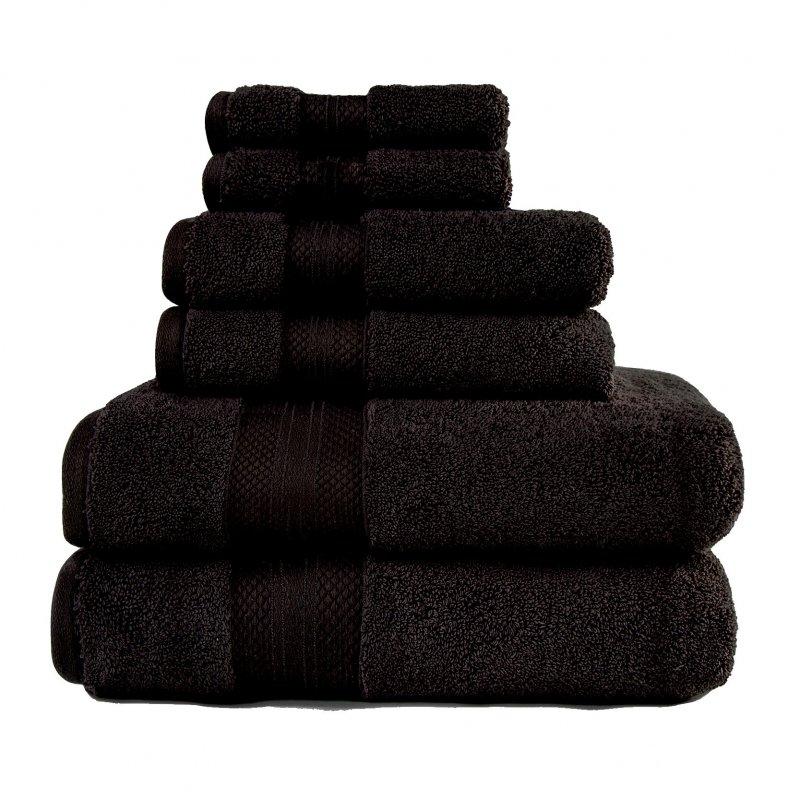 Image 1 of 100% Turkish Long Staple Cotton 800 GSM 2 Bath, 2 Hand, 2 Face Towel Set