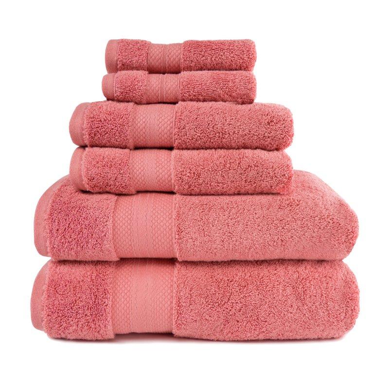 Image 3 of 100% Turkish Long Staple Cotton 800 GSM 2 Bath, 2 Hand, 2 Face Towel Set