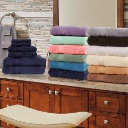100% Turkish Long Staple Cotton 800 GSM 2 Bath, 2 Hand, 2 Face Towel Set