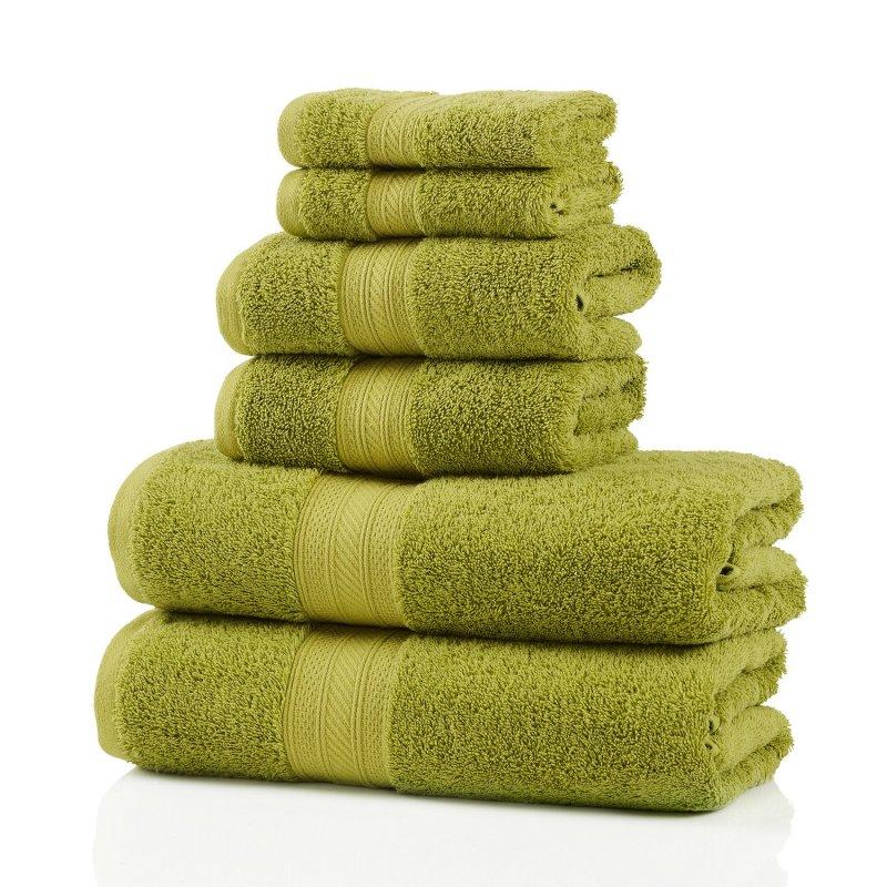 Image 9 of Plush Long Staple Cotton Towel Set 700 GSM 2 Bath Towel, 2 Hand, 2 Washcloths