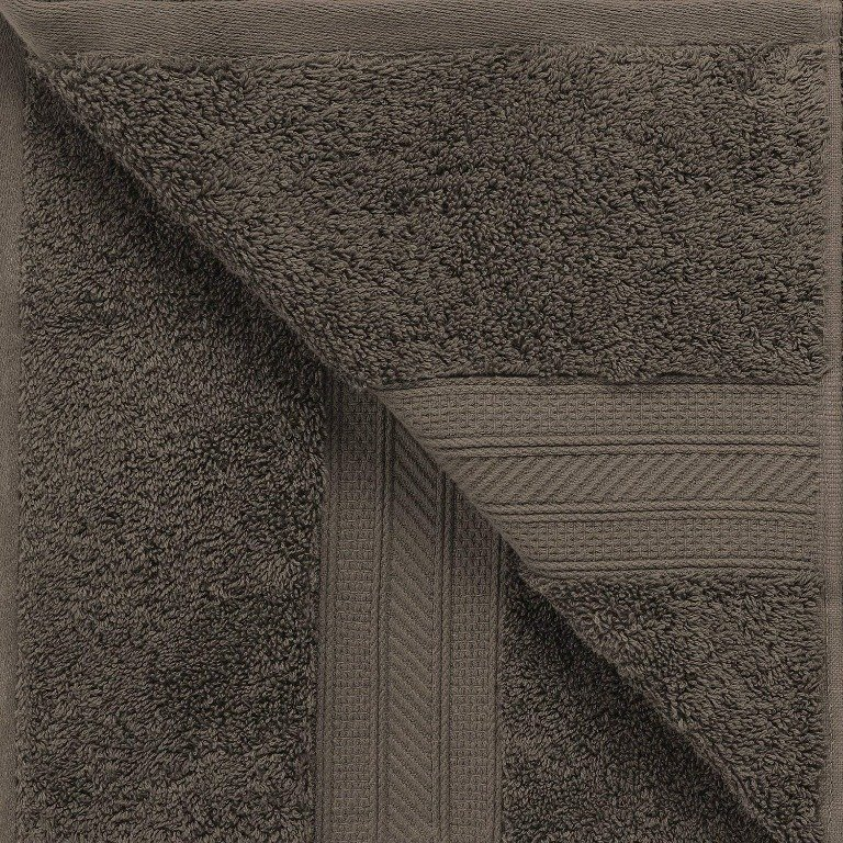 Gray 700 GSM Long Staple Cotton 6-Piece Towel Set