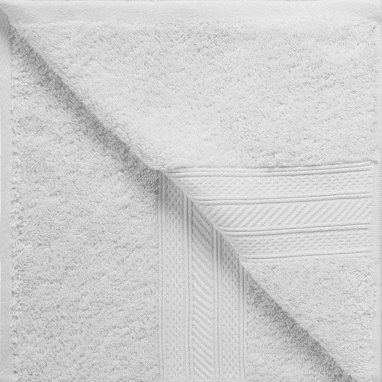 White 700 GSM Long Staple Cotton 6-Piece Towel Set