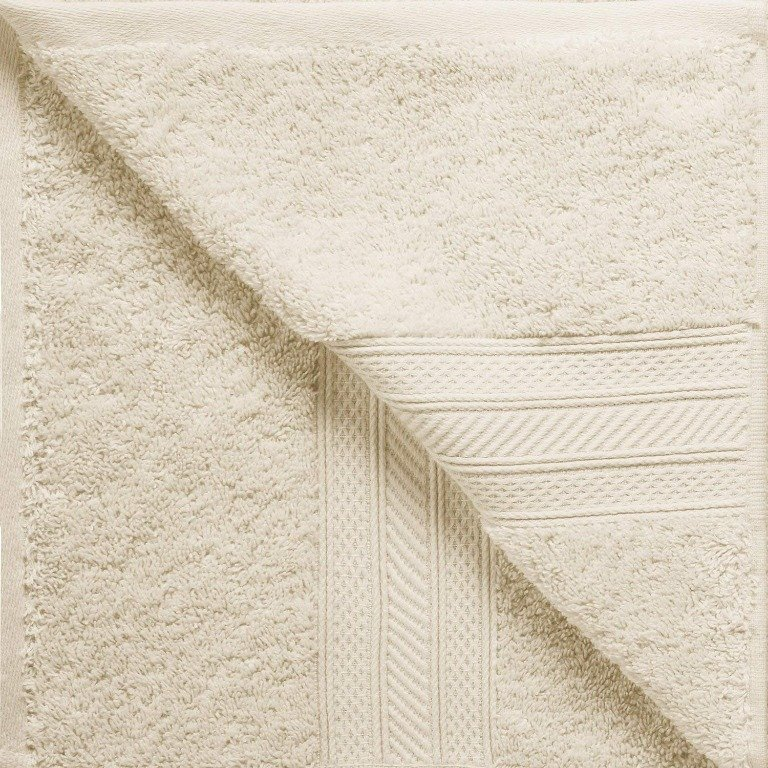Almond 700 GSM Long Staple Cotton 6-Piece Towel Set