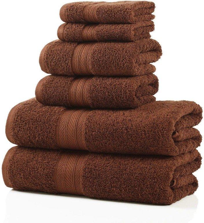 Image 7 of Plush Long Staple Cotton Towel Set 700 GSM 2 Bath Towel, 2 Hand, 2 Washcloths
