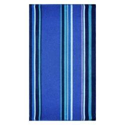 Superior Sefina Blue Striped Beach Towel 100% Premium Cotton 450 GSM  34 x 64