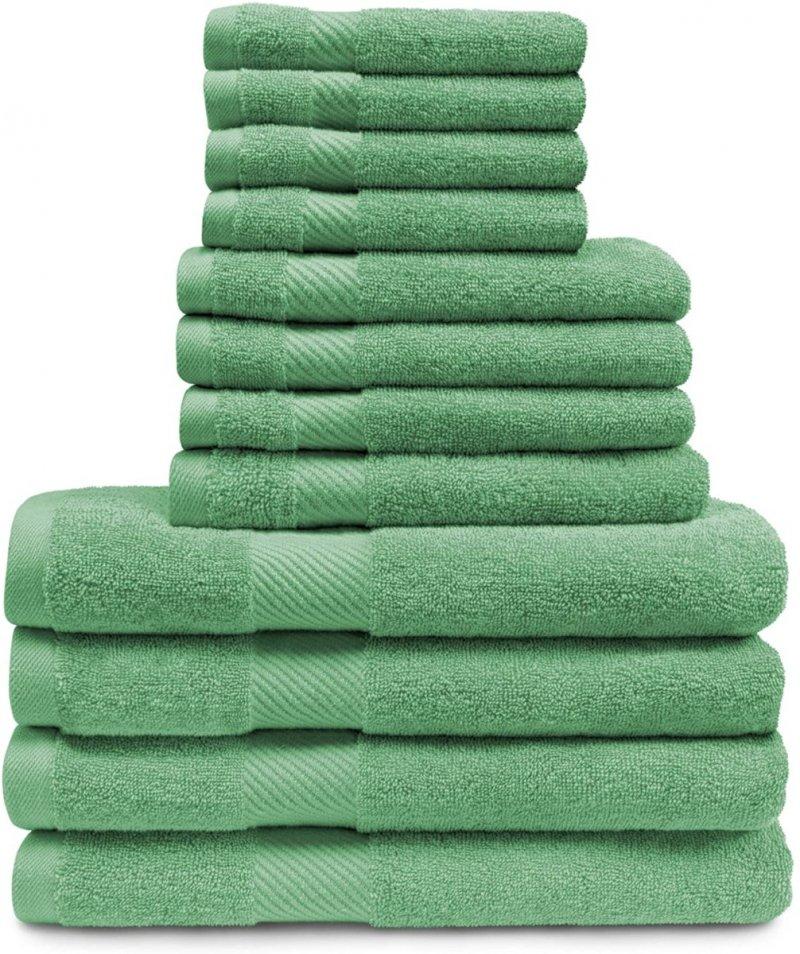 Image 15 of 12-pc. Superior Egyptian Cotton Towel Set 4 Bath, 4 Hand, 4 Face Towel Set