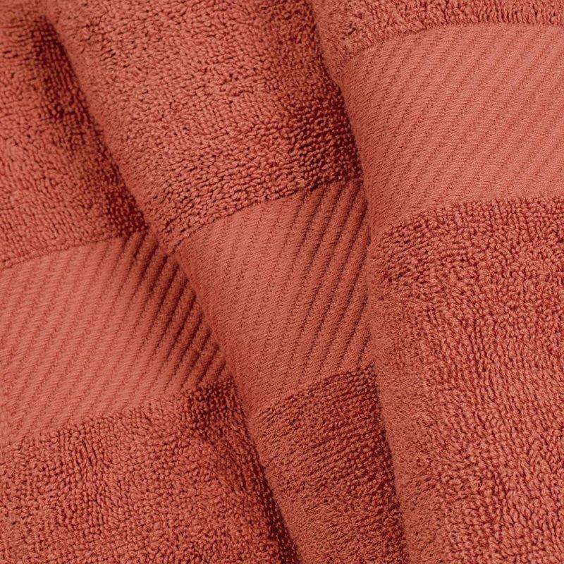 Sandy Rose Egyptian Cotton Right Hash Dobby Border Towel Set