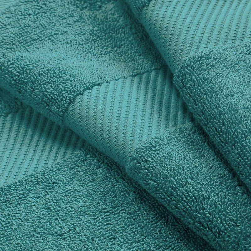 Capri Breeze Egyptian Cotton Right Hash Dobby Border Towel Set