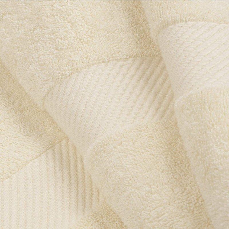 Ivory Egyptian Cotton Right Hash Dobby Border Towel Set