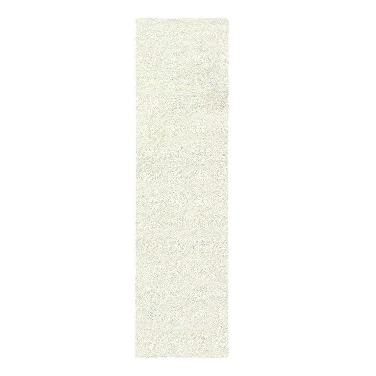 Image 5 of De Luxe Ivory Retro Hand-Tufted Soft Shag Rug & Runners Multiple Sizes