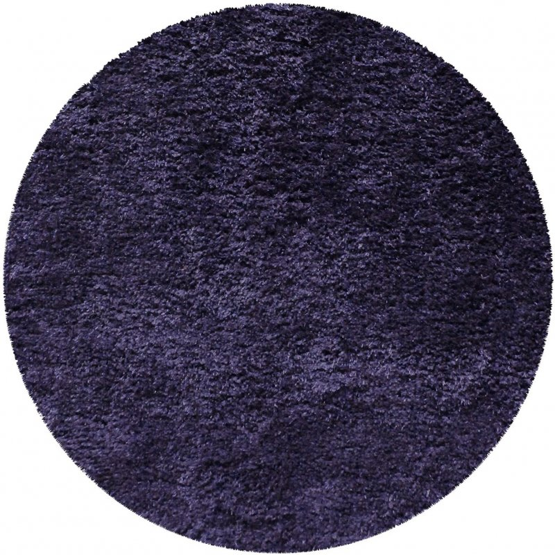 Image 4 of De Luxe Navy Blue Retro Hand-Tufted Soft Shag Rug & Runners Multiple Sizes