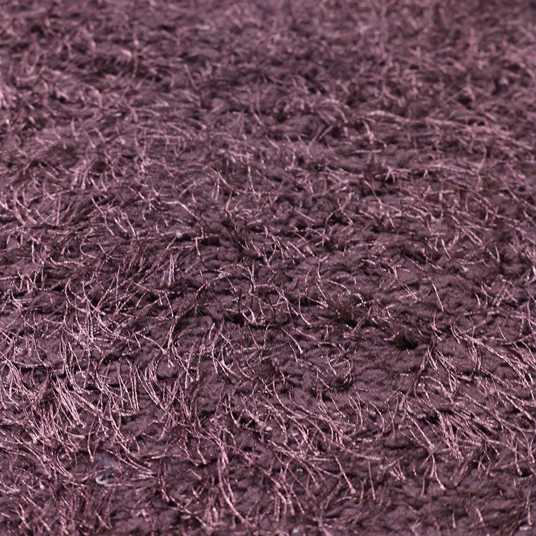 Image 6 of De Luxe Purple Retro Hand-Tufted Soft Shag Rug & Runners Multiple Sizes