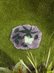 Glow in the Dark Butterfly Stepping Stone 10 Diameter